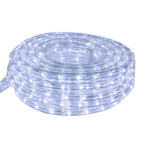 cool white rope lights shop cascadia lighting 15 ft led cool white rope light at