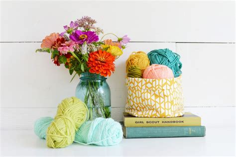 home decorating fabric diy multipurpose fabric basket home decorating diy