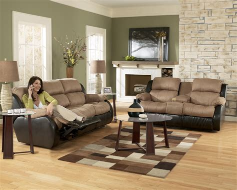 furniture living room set furniture 31501 cocoa living room set