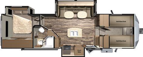 bunkhouse fifth wheel floor plans travel trailer front bunkhouse floor plans