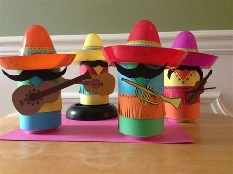 mexican craft for coke can mariachi band i made for a themed