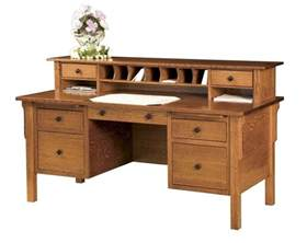 wooden desks for home office amish computer file desk mission solid wood home office
