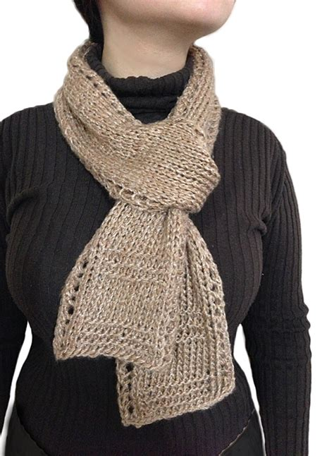 scarf knitting patterns for beginners free unisex easy beginner lace border scarf knitting pattern