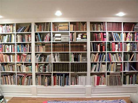 wall bookshelve gorgeous white wooden built in large bookshelf ideas for