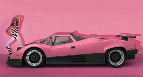 1980s Car by Imagining The Pagani Zonda As A 1980s Supercar