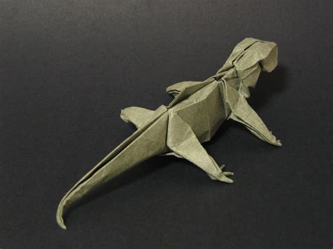 origami gecko zing origami animals beasts and creatures