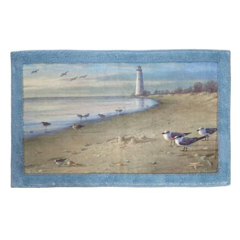 nautical bathroom rugs nautical bath bathroom rug mat ebay