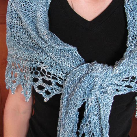 free knit lace shawl patterns triangle shawl knitting pattern free images