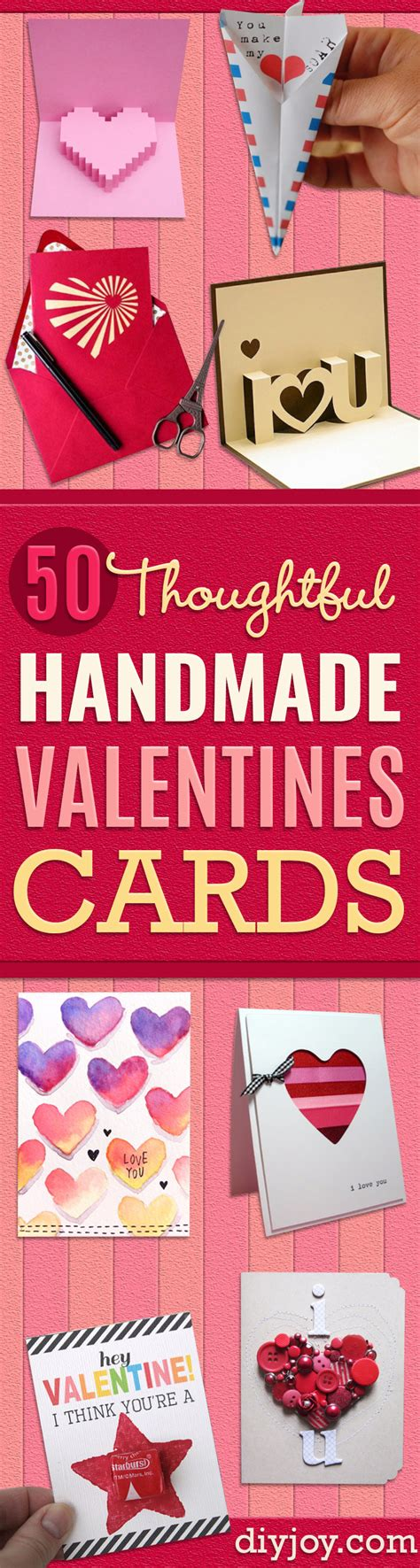 how to make cool valentines day cards 50 thoughtful handmade valentines cards diy