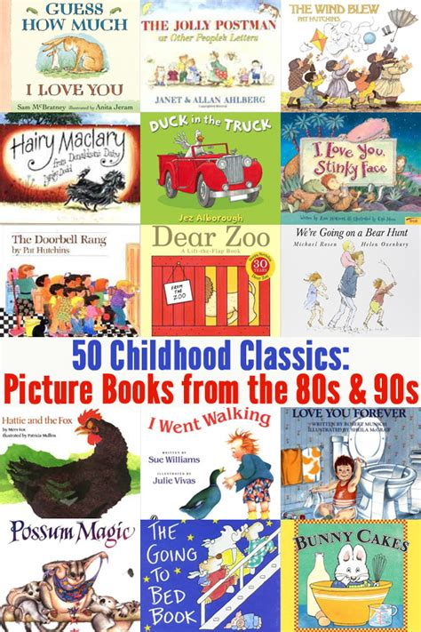 classic picture books 50 classic picture books from the 80s 90s childhood101