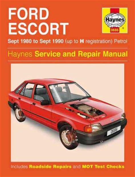 car service manuals pdf 1994 ford escort electronic throttle control ford escort petrol 1980 1990 up to h registration sagin workshop car manuals repair books