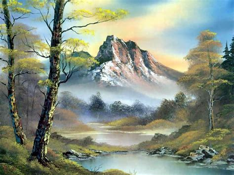 bob ross painting rocks 38 best images about painting landscapes on
