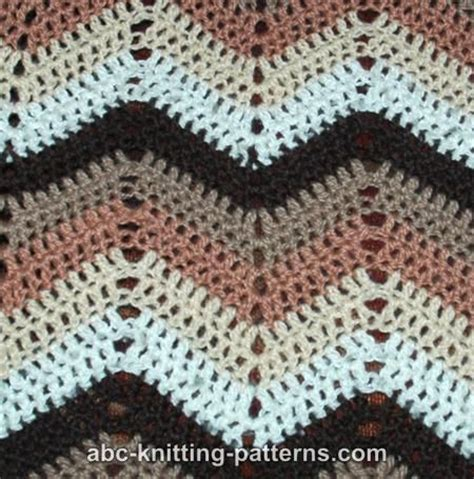ripple afghan knit pattern abc knitting patterns ripple afghan