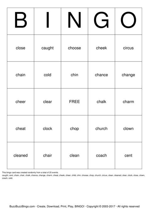 make bingo cards with words sigh words bingo cards to print and customize
