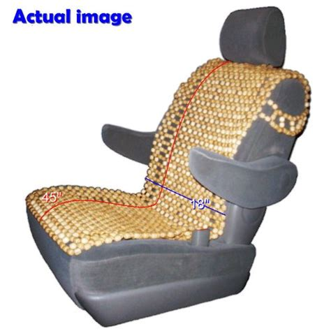 bead seat covers best wood bead seat cover autos weblog