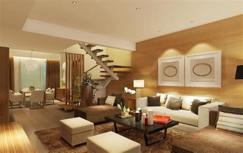woodwork room wood living room furniture 3d house