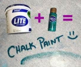 diy chalk paint with drywall compound joint compound paint chalk paint craft ideas