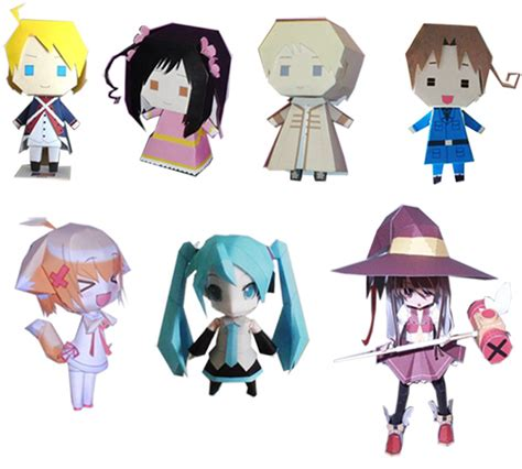 paper crafts anime paper craft is coming by cosplayfu on deviantart