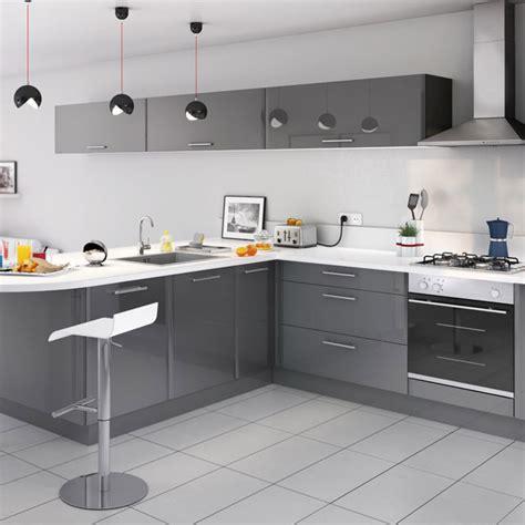 cuisine castorama cuisine cooke lewis subway gris