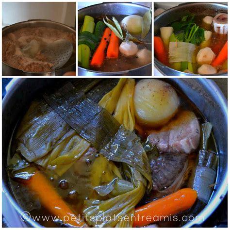 recette du pot au feu petits plats entre amis