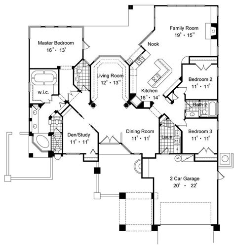 single story house plans 2500 sq ft 2500 sq ft house plans single story numberedtype