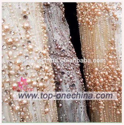 beaded fabric wholesale nigeria wedding dress lace fabric beaded lace tulle