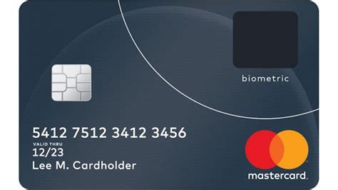what makes a credit card mastercard makes a credit card with a built in fingerprint