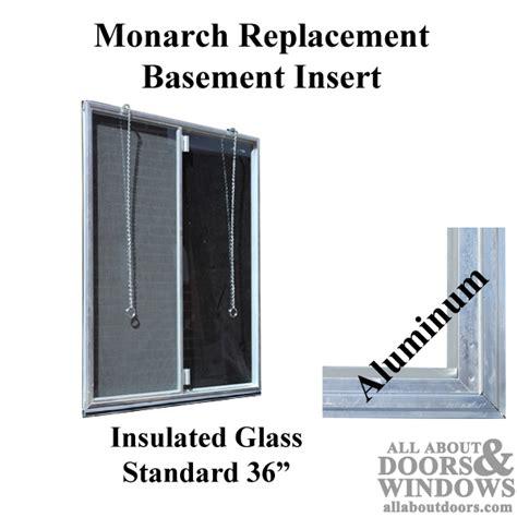 monarch basement windows monarch c 310a 36 aluminum basement window insert dual