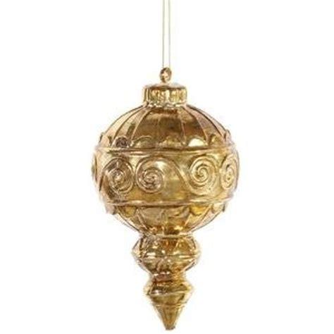 finial ornaments antique gold finial ornament 2