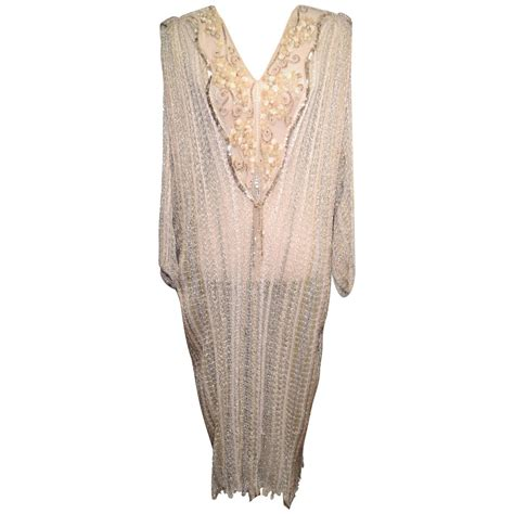 vintage beaded dresses for sale mali vintage 1980s thin knit beaded sequin sweater dress