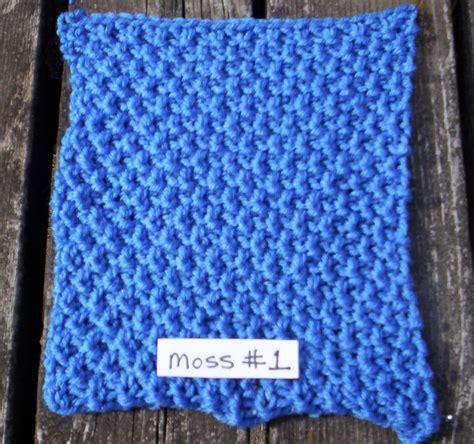 moss stitch in knitting moss 1