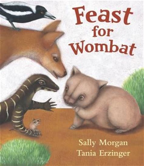 wombat picture book book review review feast for wombat