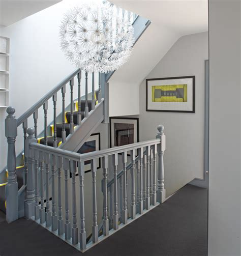 White Patio Cushions by House In Dublin 4 Contemporary Staircase Dublin By