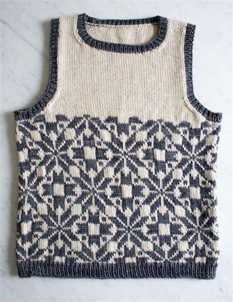 fair isle vest knitting patterns 17 best images about strikke opgaver on merino