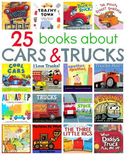 books about cars and how they work 2012 honda fit interior lighting 25 picture books about cars and trucks