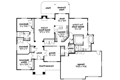 houses and floor plans craftsman house plans goldendale 30 540 associated designs