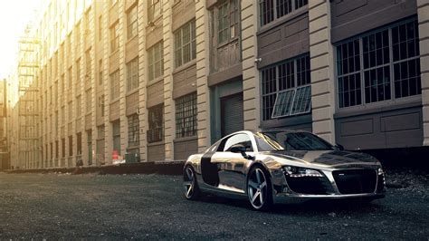 90 S Car Wallpaper by Audi R8 Chrome Ultra Hd 4k Wallpapers Cars