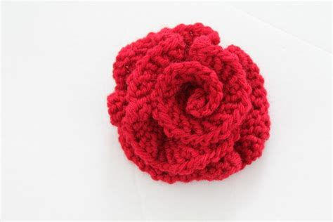 flower pattern knitting you to see easy knitted flower on craftsy