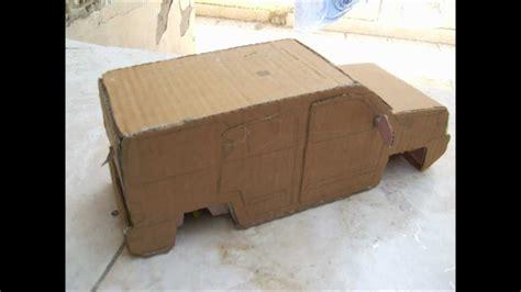 how to make a car card cardboard cars part 1
