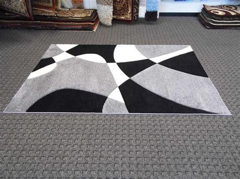 black and white modern rug modern rugs in dubai across uae call 0566 00 9626