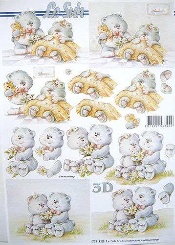 le suh decoupage caring bears decoupage sheet le suh 112