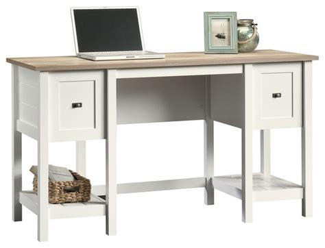 cottage white desk cottage road desk soft white style desks and