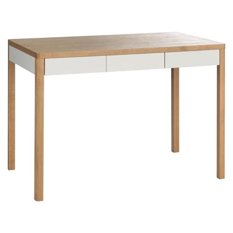 oak desk albion 3 drawer oak desk buy now at habitat uk