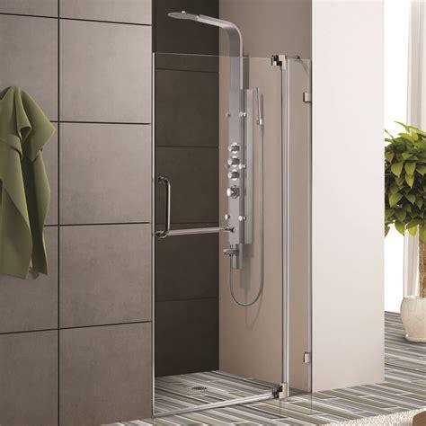 frameless shower door price glass shower doors prices frameless glass vigo frameless