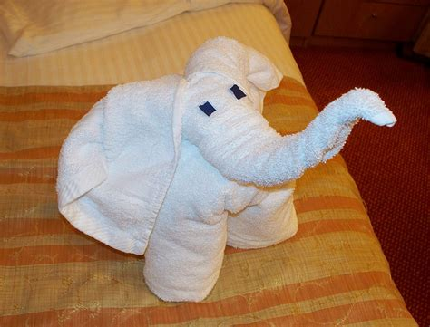 towel origami animals cruise ship towel animals take to the high seas kuriositas