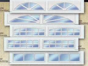 Garage Door Plastic Window Inserts Decorative Glass Inserts Garage Doors Home Interiors