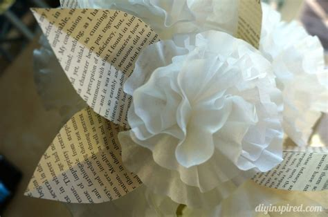 coffee filter paper crafts easy coffee filter paper flowers diy inspired