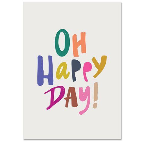 happy day oh happy day print babasouk