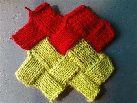 entrelac knitting entrelac knitting pattern zigzag stockinette stitch