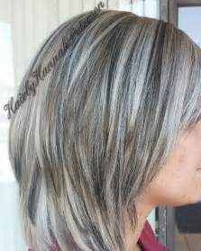 gray hair with lowlights best 25 frosted hair ideas on pinterest